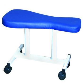 כיסא אוכף נייד למטפלים מתכוונן