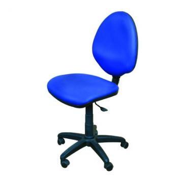 כסא עגול פנאומטי עם משענת